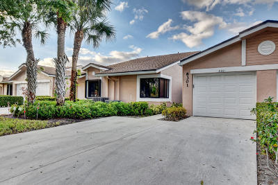 Boca Raton Single Family Home For Sale: 8301 Summersong Terrace