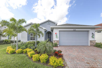 Port Saint Lucie Single Family Home For Sale: 10149 SW Indian Lilac Trail