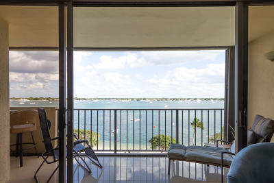 West Palm Beach Condo For Sale: 5600 Flagler Drive #609