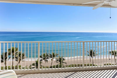 Highland Beach Rental For Rent: 3101 S Ocean Boulevard #618