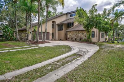 Jupiter Single Family Home For Sale: 12288 169th Court