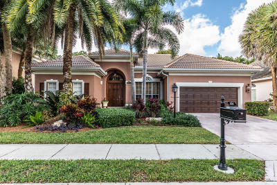 Palm Beach Gardens Single Family Home For Sale: 164 Oakwood Lane