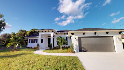 Port Saint Lucie Single Family Home For Sale: 2755 SE Rawlings Road