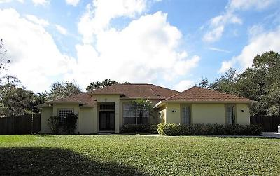 Fort Pierce Single Family Home For Sale: 2805 Grove Drive