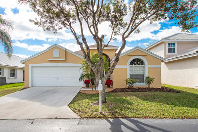 Boynton Beach Single Family Home For Sale: 1309 Fairfax Circle E