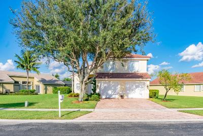 Lake Worth Single Family Home For Sale: 5190 Prairie Dunes Village Circle