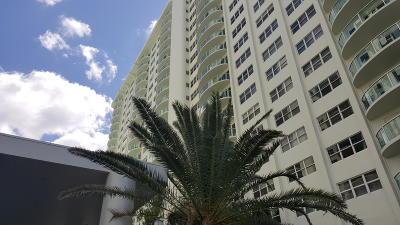 Fort Lauderdale Rental For Rent: 3400 Galt Ocean Drive #301 S