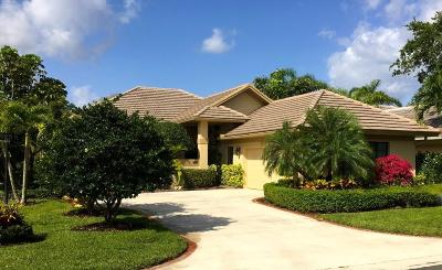 Palm Beach Gardens FL Single Family Home For Sale: $474,000