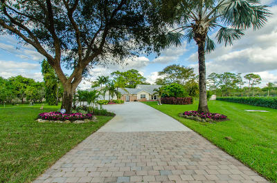 Lake Worth Single Family Home For Sale: 5038 Colbright Road