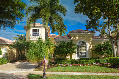 Delray Beach Single Family Home For Sale: 7881 Trieste Place