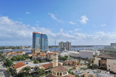 West Palm Beach Condo For Sale: 801 S Olive Avenue #902