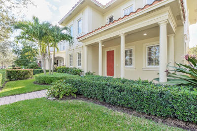 Jupiter Single Family Home For Sale: 166 Bandon Lane