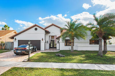 Boynton Beach Single Family Home For Sale: 6012 Sun Berry Circle