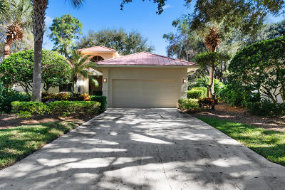 Jupiter Single Family Home For Sale: 106 Toteka Circle
