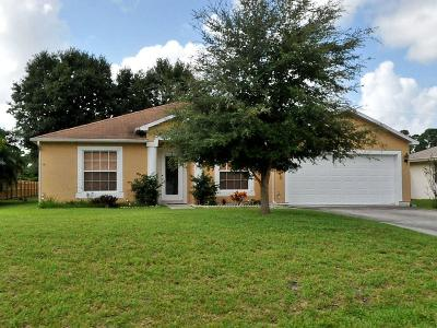 Port Saint Lucie Single Family Home For Sale: 1226 SW Asturia Avenue