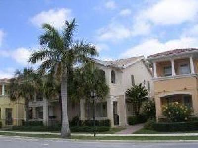 Palm Beach Gardens Townhouse For Sale: 4508 Illicium Drive #184