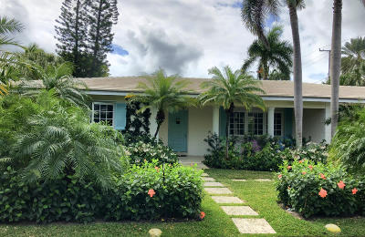 Palm Beach Single Family Home For Sale: 300 Colonial Lane