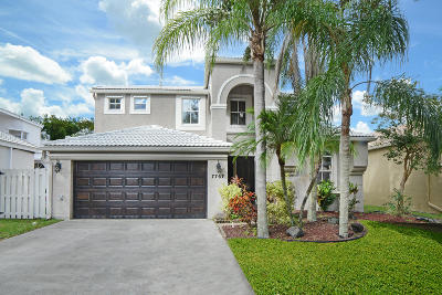 Lake Worth Single Family Home For Sale: 7767 Great Oak Drive