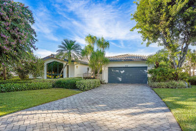 Boynton Beach Single Family Home For Sale: 68 Northwoods Circle