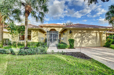 Boynton Beach Single Family Home For Sale: 11066 Via Amalfi