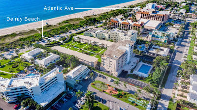 Delray Beach Condo For Sale: 120 Ocean Boulevard #404