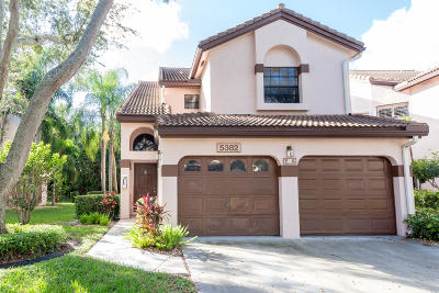 Boynton Beach Condo For Sale: 5382 Venetia Court #E