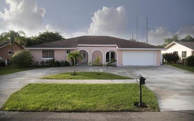 Boca Raton Single Family Home For Sale: 4694 Brandywine Drive