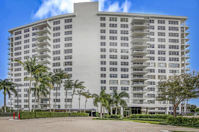 Palm Beach County Condo For Sale: 875 E Camino Real #1-A
