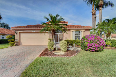 Boynton Beach Single Family Home For Sale: 7607 Caprio Drive