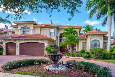 Delray Beach Single Family Home Contingent: 9528 Savona Winds Drive