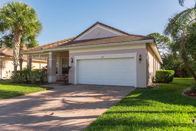 Port Saint Lucie Single Family Home For Auction: 152 NW Pleasant Grove Way