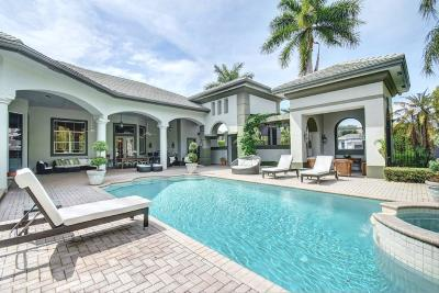 Boca Raton FL Single Family Home For Sale: $1,990,000