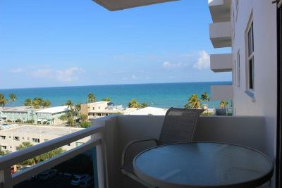 Hollywood Condo For Sale: 1701 S Ocean Drive #802
