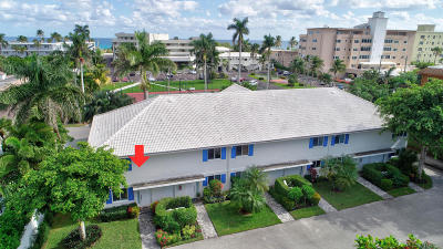 Delray Beach Townhouse For Sale: 130 Andrews Avenue #6