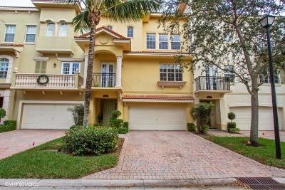 Palm Beach Gardens Townhouse For Sale: 2462 San Pietro Circle