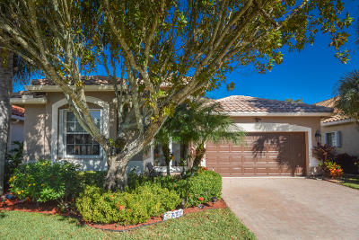 Boynton Beach Single Family Home For Sale: 7339 Trentino Way