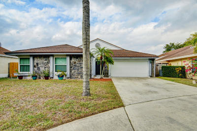 Boca Raton Single Family Home Contingent: 11671 Timberwood Road