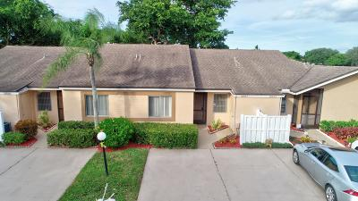 Boca Raton Single Family Home For Sale: 8887 Windtree Street #C