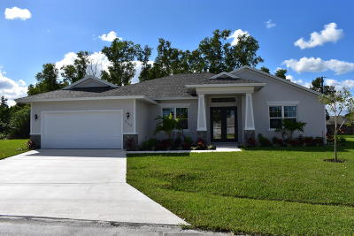 Port Saint Lucie Single Family Home For Sale: 3142 SW Chilton Court