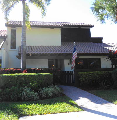 Boca Raton FL Townhouse For Sale: $325,000