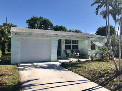 Lake Worth Single Family Home For Sale: 1418 Street