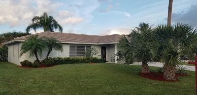 Palm Beach Gardens Single Family Home For Sale: 11865 Hemlock Street