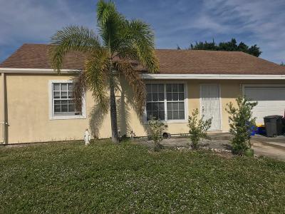 Boynton Beach Single Family Home For Sale: 5707 Pebble Brook Lane