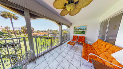 Palm Beach County Condo For Sale: 1099 S Ocean Blvd #206-S