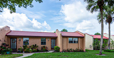 West Palm Beach Single Family Home For Sale: 132 Lake Anne Drive