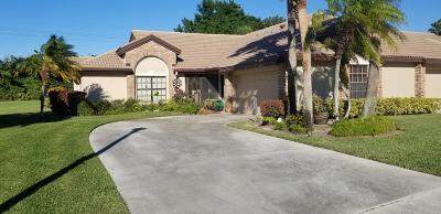 Boynton Beach Single Family Home Contingent: 8080 Cassia Drive #8080