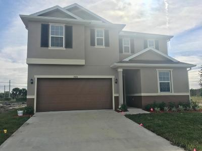 Port Saint Lucie Single Family Home For Sale: 5600 NW Pine Trail Circle