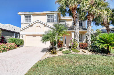 Delray Beach Single Family Home For Sale: 7675 Monarch Court