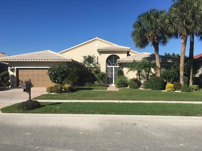 Boynton Beach Single Family Home For Sale: 6817 Treves Way