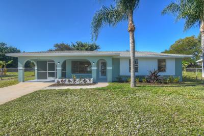 Port Saint Lucie Single Family Home For Sale: 252 NE Summer Road